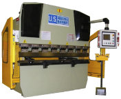 US  INDUSTRIAL  44  TON  x  6 ft  CNC  HYDRAULIC  PRESS  BRAKE